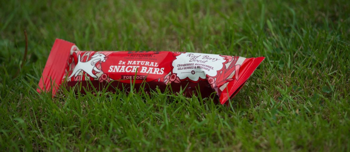Red Berry Boost natural snack bar by Lily's Kitchen